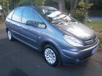 53 Citroen Xsara Picasso 2.0HDi 90hp 2003MY Exclusive in grey