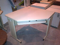 """Dynamic 36"""" or 42"""" corner desk with keyboard tray (14 available)"""