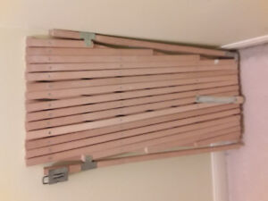 2 Extendable Wooden stair gates 25$ for both