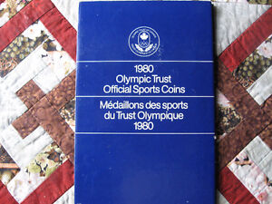 1980 Olympic coin set