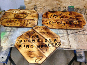 home crafted signs
