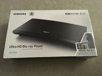 Samsung ultra 4K HD Blu-ray UBD-K8500 New and unused includes 3 movies