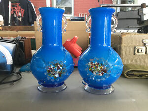 FURTHER REDUCED! Beautiful blue vases for sale