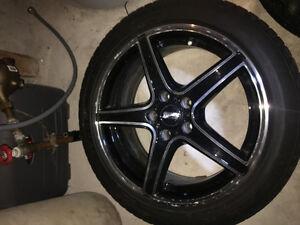 Cobalt SS Winter Tires And Rims Cambridge Kitchener Area image 2