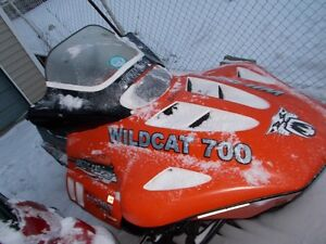 great sled 700 wildcat fuel injected Cambridge Kitchener Area image 4