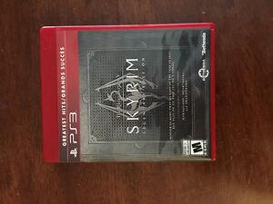 Skyrim Legendary Edition PS3 $15