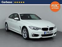 2015 BMW 4 SERIES 420d [190] M Sport 2dr Auto [Professional Media] Coupe