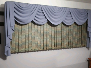 Curtian and blinds