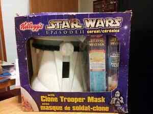 Star Wars Collector's Helmet w Cereal