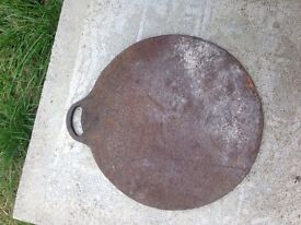 large cast iron Welsh plate
