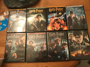 Harry Potter all 8 movies