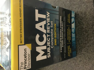 Princeton Review MCAT Subject Review 7 Complete Set+FL, 2nd Ed