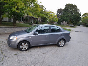 2008 Chevrolet Aveo Sedan - No accident. Selling as it is