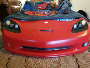 RACING CAR BED RED