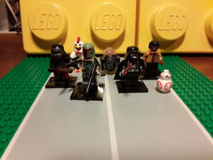 Lego compatible minifigs star wars and super heroes