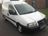 2004 54 Fiat Scudo 1.9D White Panel Van Twin Side Doors - NOW £1795