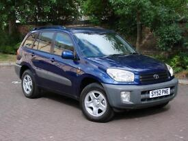 EXCELLENT 4X4!!! 52 REG TOYOTA RAV4 2.0 VVT-i NV 5dr, LONG MOT, FSH, WARRANTY