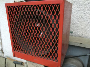 Potable electric heater