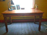 Wooden desk/ craft table