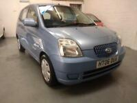 GORGEOUS 2006 (56) Kia Picanto 1.1 ** AUTOMATIC ** 5 DOOR, FSH & LONG MOT!