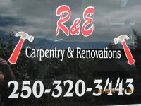 HANDYMAN - R & E CARPENTRY & RENOVATIONS
