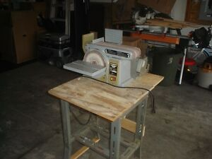 "Craftsman 5"" Bench Grinder and Belt and Disk Sander"