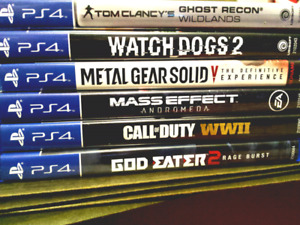 }} PS4 GAMES }}
