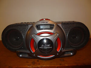 Sony CFD-G55 Lecteur CD, radio-cassette BoomBox