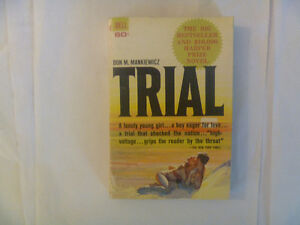 TRIAL by Don M. Mankiewicz - 1962 Paperback