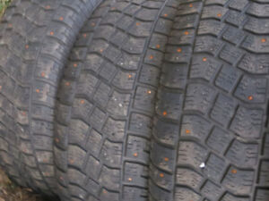 P235/65R17 STUDDED WINTER AVALANCHE TIRES