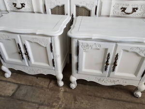 White Side Tables - Fresh and Ornate