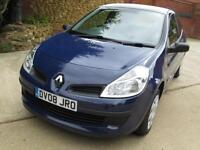 Renault Clio 1.2 16v 75 Freeway Low Miles, Great History & MOT