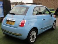 2012 Fiat 500 1.2 Lounge Dualogic 3dr (start/stop)