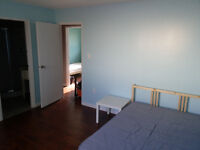 Master bedroom for rent.  1 block away from the mall.