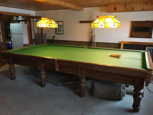 6x12 Brunswick Snooker Table