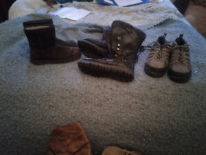 Assortment of women's boots and shoes ! Photos to be uploaded.