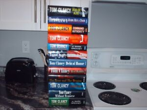 Tom Clancey Hard Cover