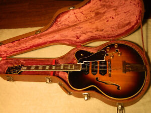 1948 Gibson L-5P Archtop Arch Top Cutaway Jazz 3 P-90 Pickups