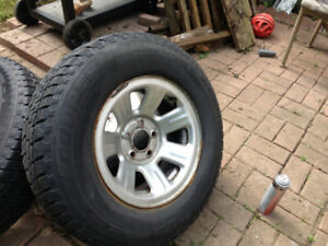 Ford Ranger wheels and winter tires