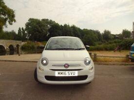Fiat 500 POP (white) 2016