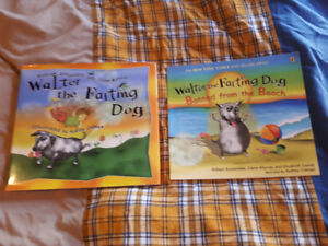 2 Walter the Farting Dog Books