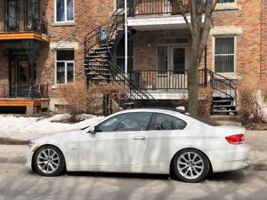 BMW 335xi 2008 coupe – Manuelle 6MT  – 3e proprio