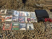 PS3 150/160gb with 16 games and two controllers