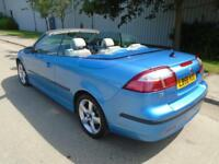 2006 (56) SAAB 0-3 1.8 TURBO VECTOR CONVERTIBLE FULL LEATHER