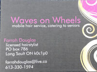 Hairstylist specializing in seniors