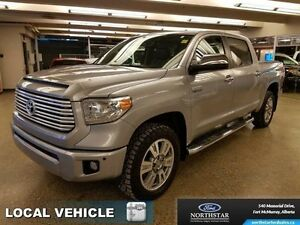 2015 Toyota Tundra Platinum  - local - trade-in - Fully Loaded -