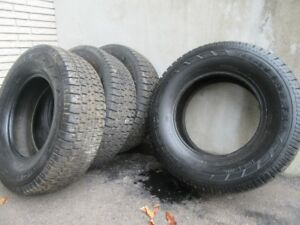 4 Winter Tires for Sale  P225/75R15