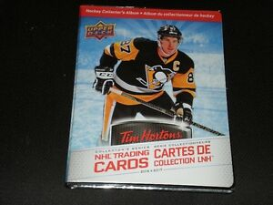 Tim Horton Upper Deck Hockey Cards
