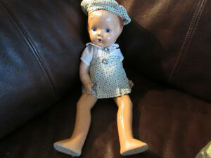 vintage doll from the 1930s