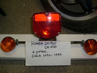1979 Honda and up Rear Brake and Turn Signal assembly